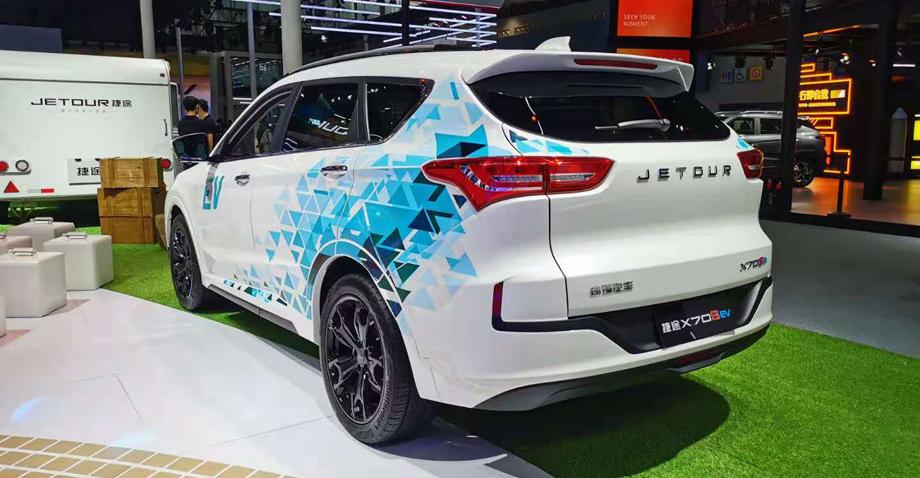 Презентация нового паркетника Jetour X70S EV в Гуанчжоу