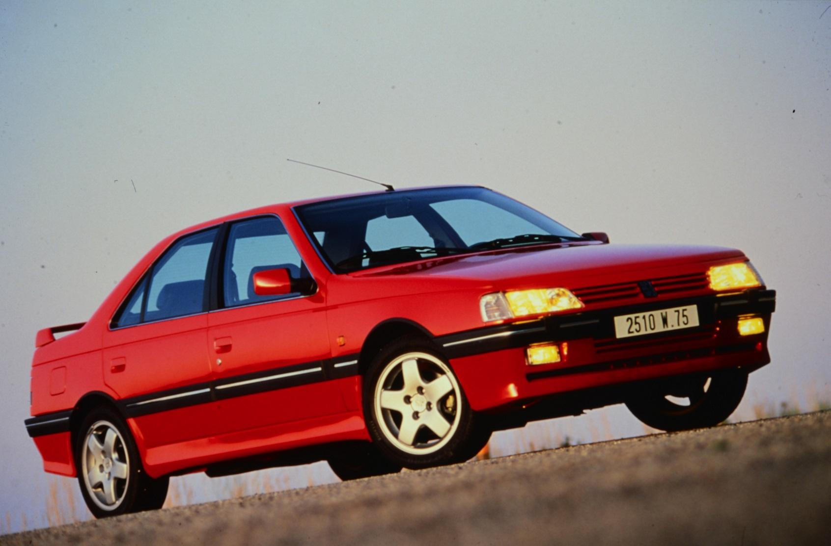Peugeot 405 T16 як прообраз 508 Peugeot Sport Engineered