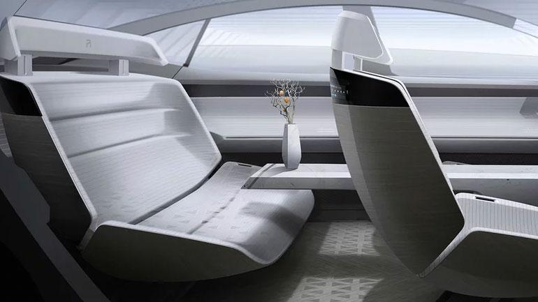 Флагманский концепт-кар R-Aura Concept от SAIC на автошоу в Гуанчжоу