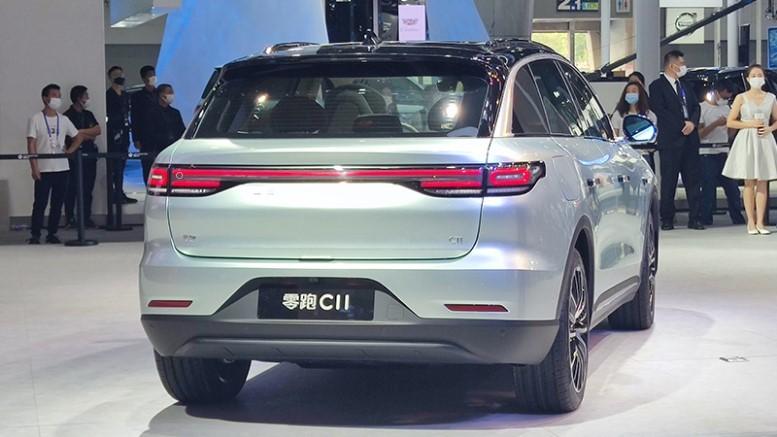 Компанія Leap представила кросовер С11 на автосалоні в Гуанчжоу