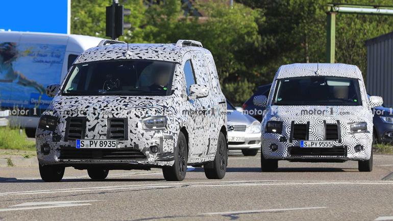 Mercedes-Benz показали первые фото нового фургона Citan