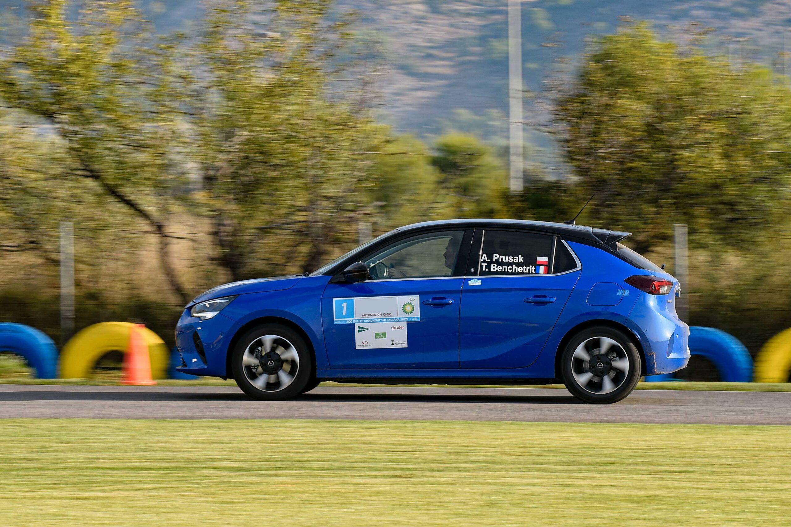 Электромобиль Opel Corsa-e выиграл Гоночный Кубок FIA E-Rally Regularity Cup
