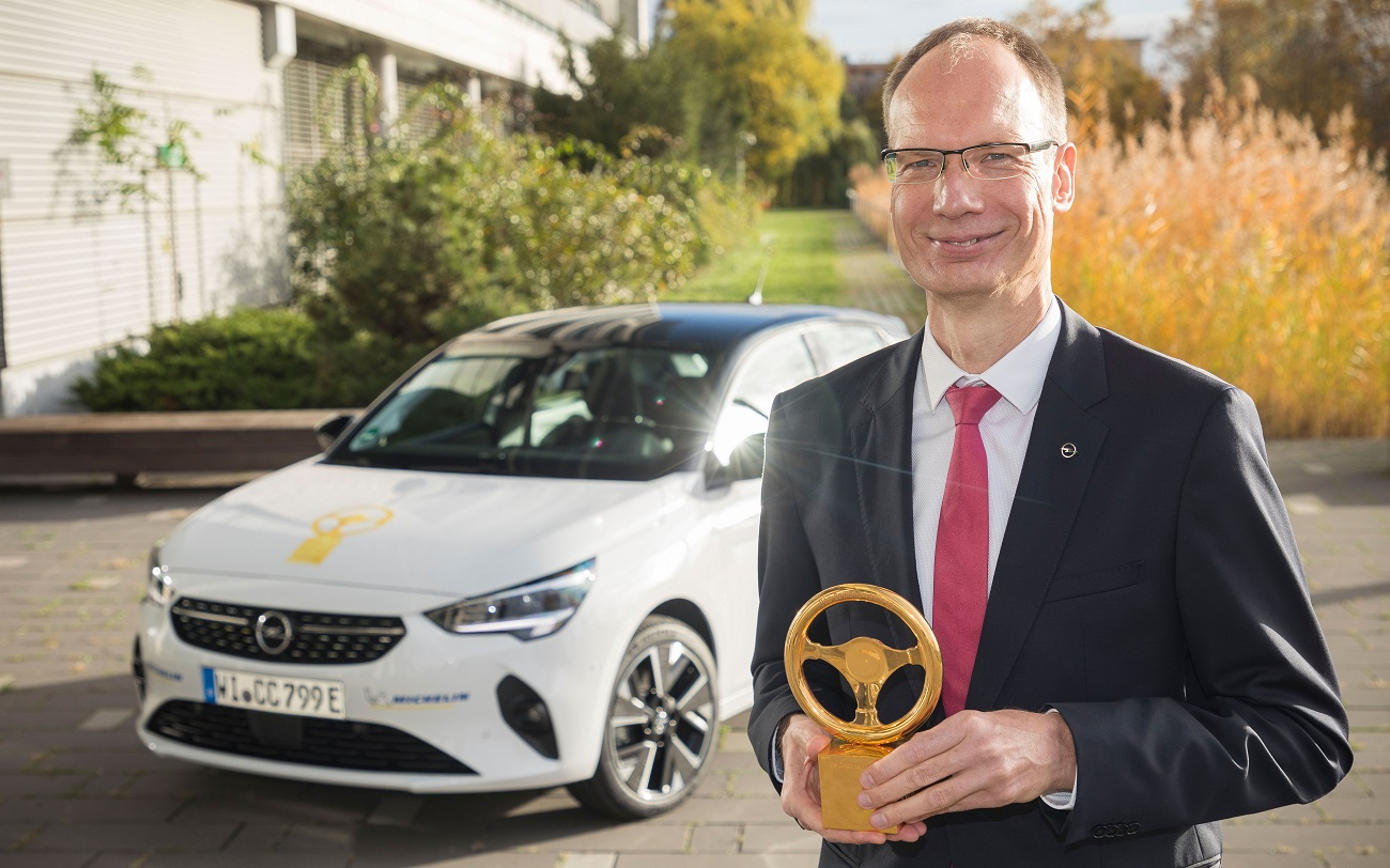 Opel Corsa-e виграла престижну нагороду «Золоте кермо 2020»