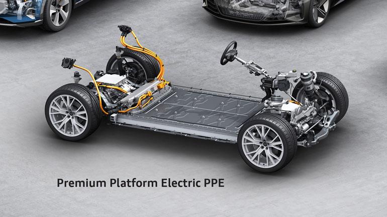 Audi положит начало созданию электрических суперседанов под другими брендами