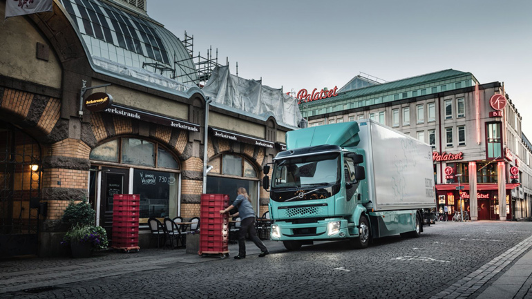 Volvo Trucks почне пропонувати в Європі електричні варіанти своїх вантажівок