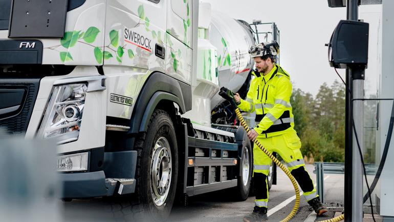 Volvo начнёт предлагать электрические варианты грузовиков с 2021 года