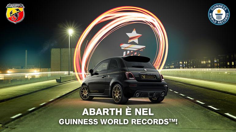 Итальянская компания Abarth установила новый мировой рекорд
