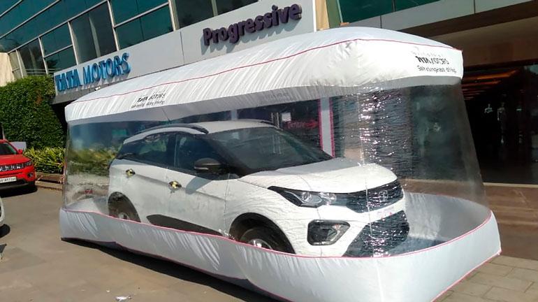 Tata Motors начала продавать автомобили в особых «пузырях безопасности»