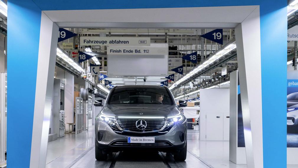 Mercedes-Benz запустит в серийное производство 6 новых электрических авто