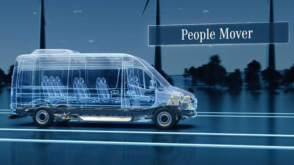 Компанія Mercedes-Benz випустить нову електричну універсальну платформу