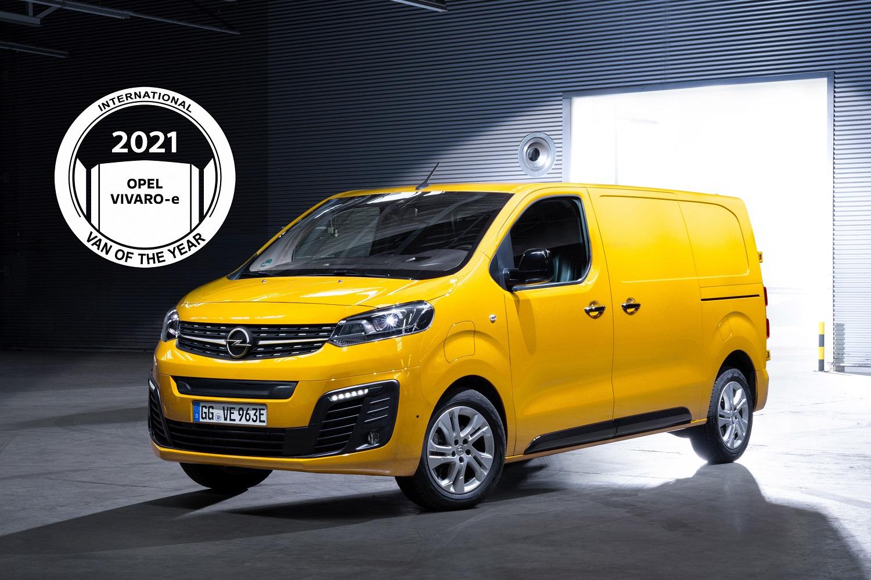 Група PSA перемагає в конкурсі «International Van of the Year 2021»