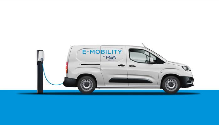 Группа PSA в 2021 году запустит электрические версии компактных коммерческих фургонов PEUGEOT, CITROЁN, OPEL, Vauxhall