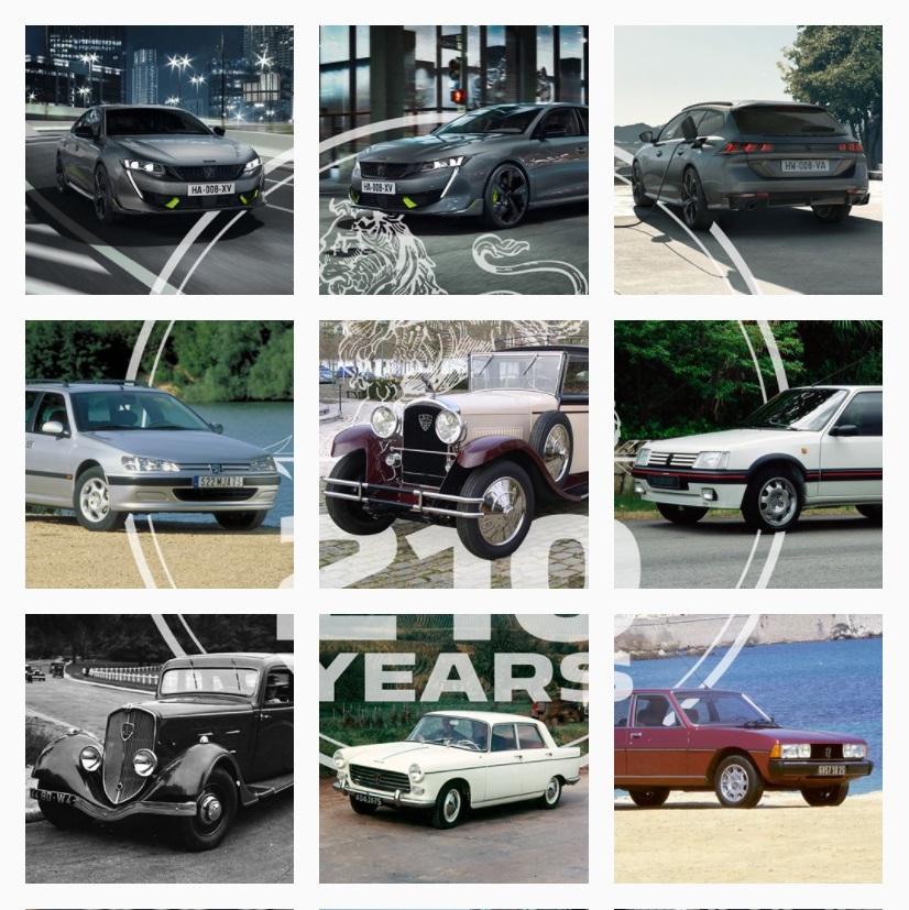 Peugeot изменил логотип в честь 210-летнего юбилея
