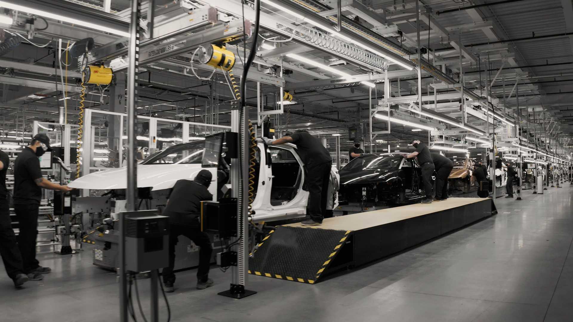 Lucid оголосив про завершення будівництва автозаводу