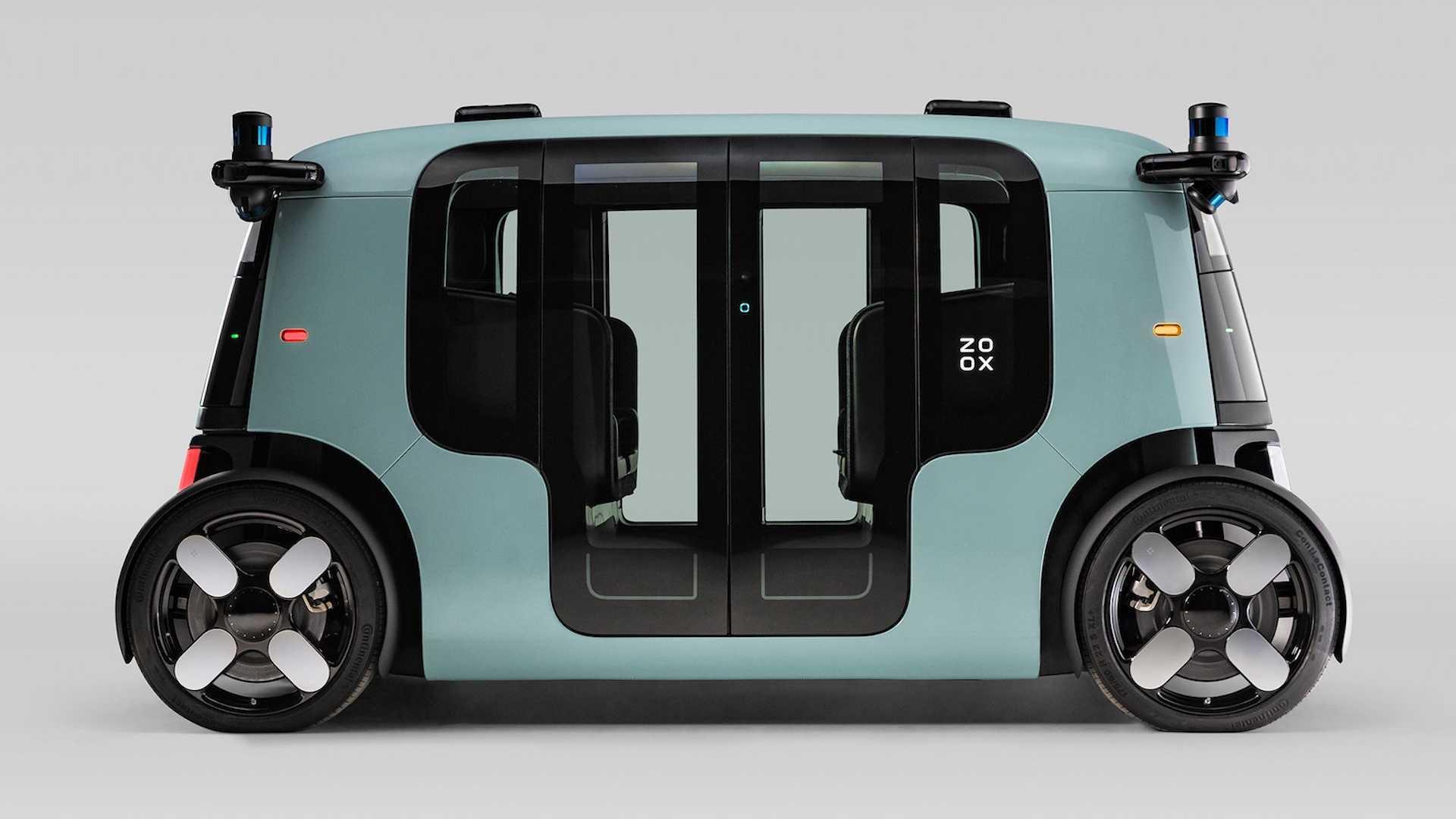 Amazon представив свій електрокар. У нього немає керма, але батарея більше, ніж в Tesla
