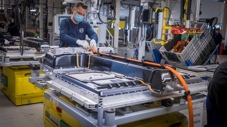 Volvo Cars потроїть виробництво електромобілів в Генті