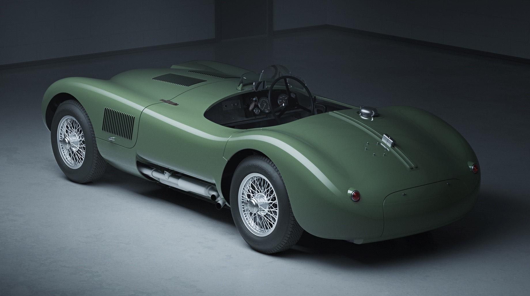 Jaguar перезапустит оригинальный С-type