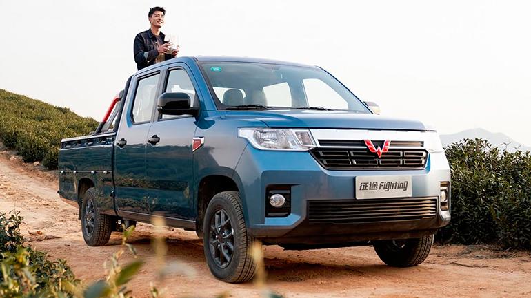В Китае представили новый пикап Wuling Zhengtu