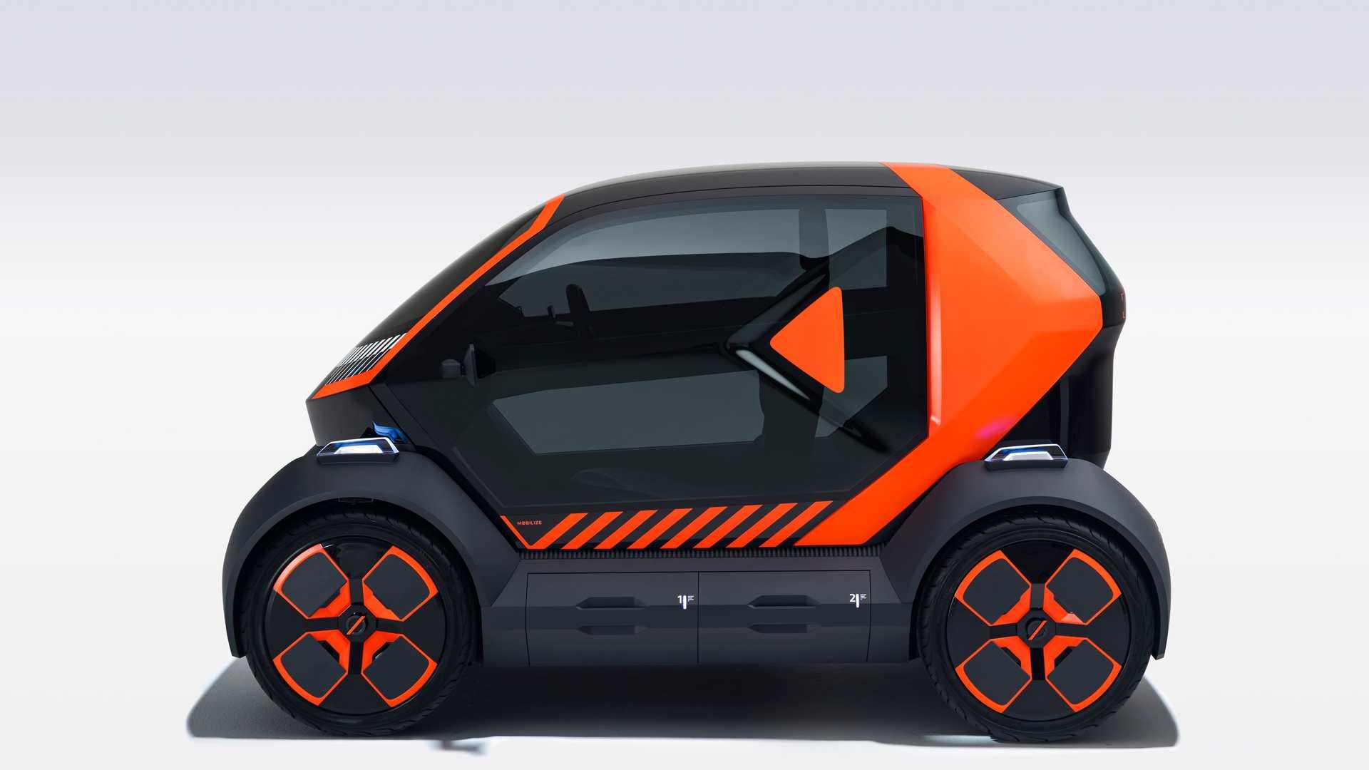 Renault представила электрокар для собственного каршеринга с быстрой сменой батареи
