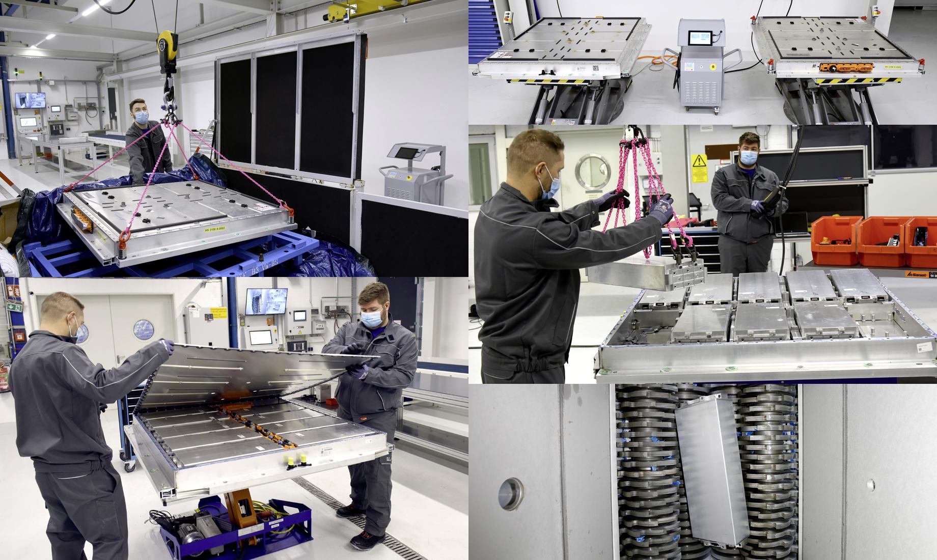 Volkswagen запустил завод по переработке старых батарей