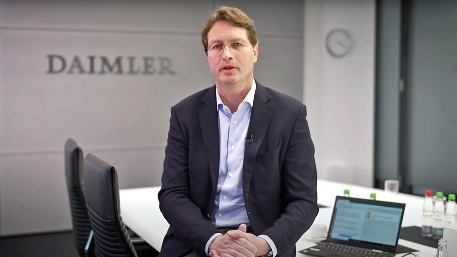 Daimler разделится на две части