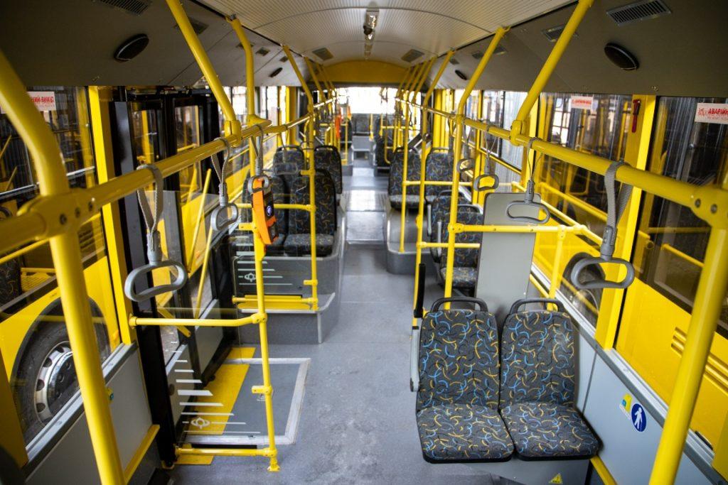 Нові тролейбуси «Богдан» – вже на маршрутах столиці