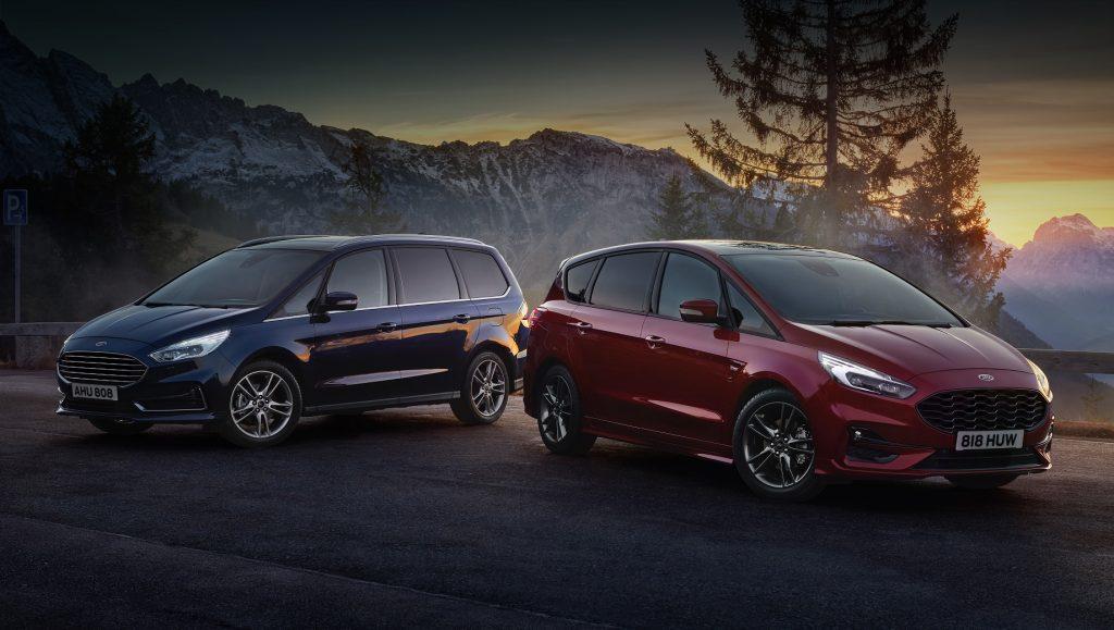 Ford S-Max и Galaxy стали гибридами