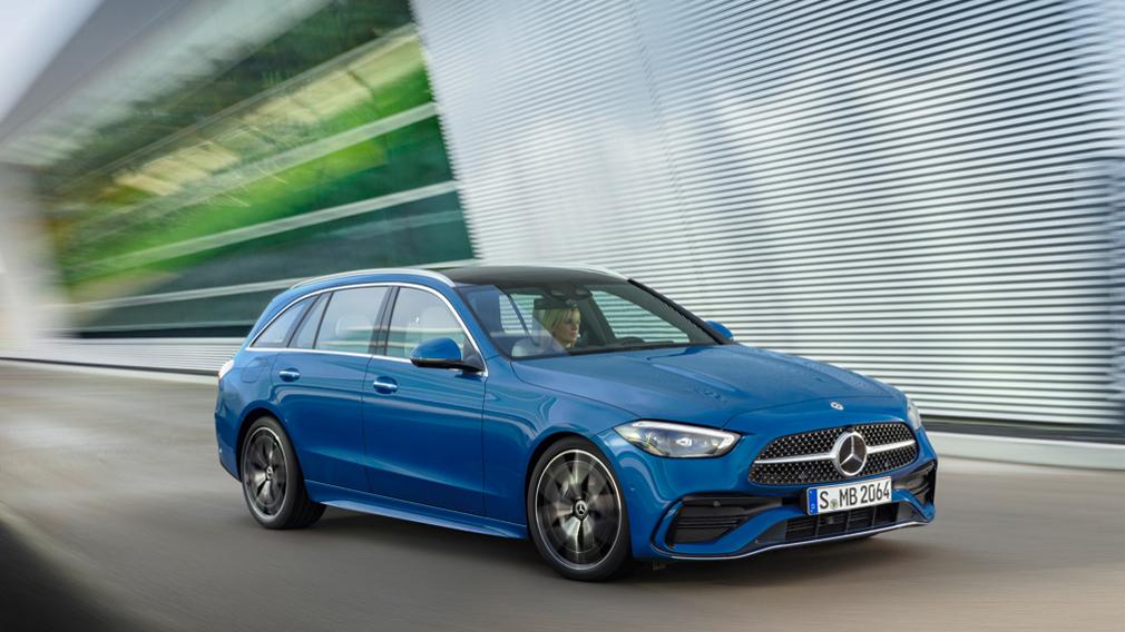 Mercedes-Benz полностью рассекретила семейство C-Class нового поколения