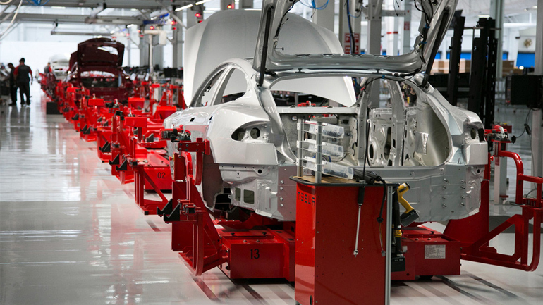 Tesla закрыл свой завод в калифорнийском городе Фремонте