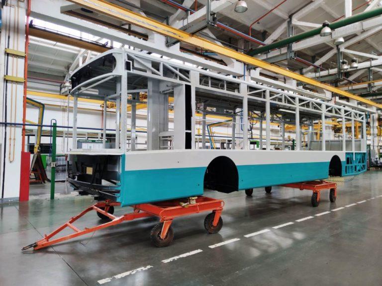 Для Сумщины начали изготовление новых троллейбусов