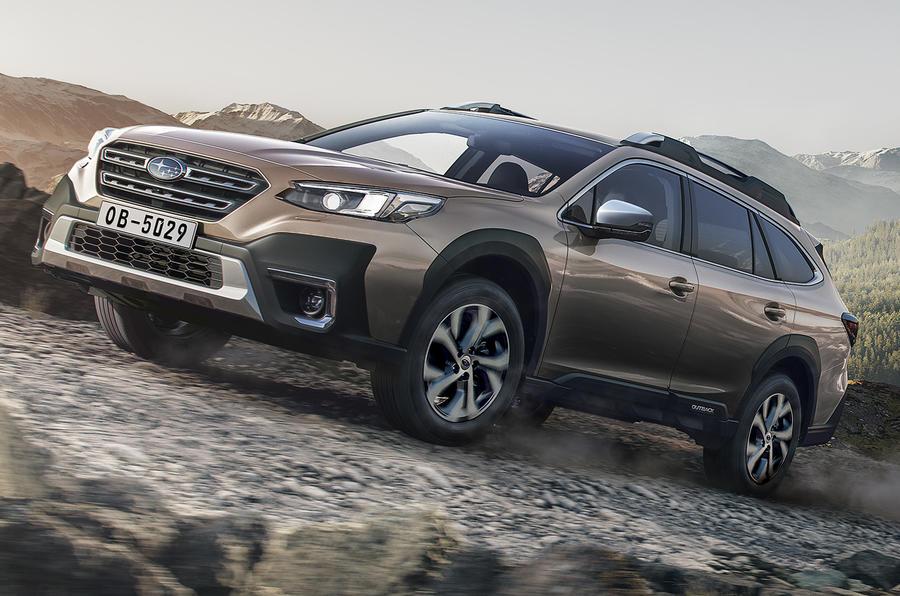 Японцы выводят на рынок европейскую версию Subaru Outback шестого поколения