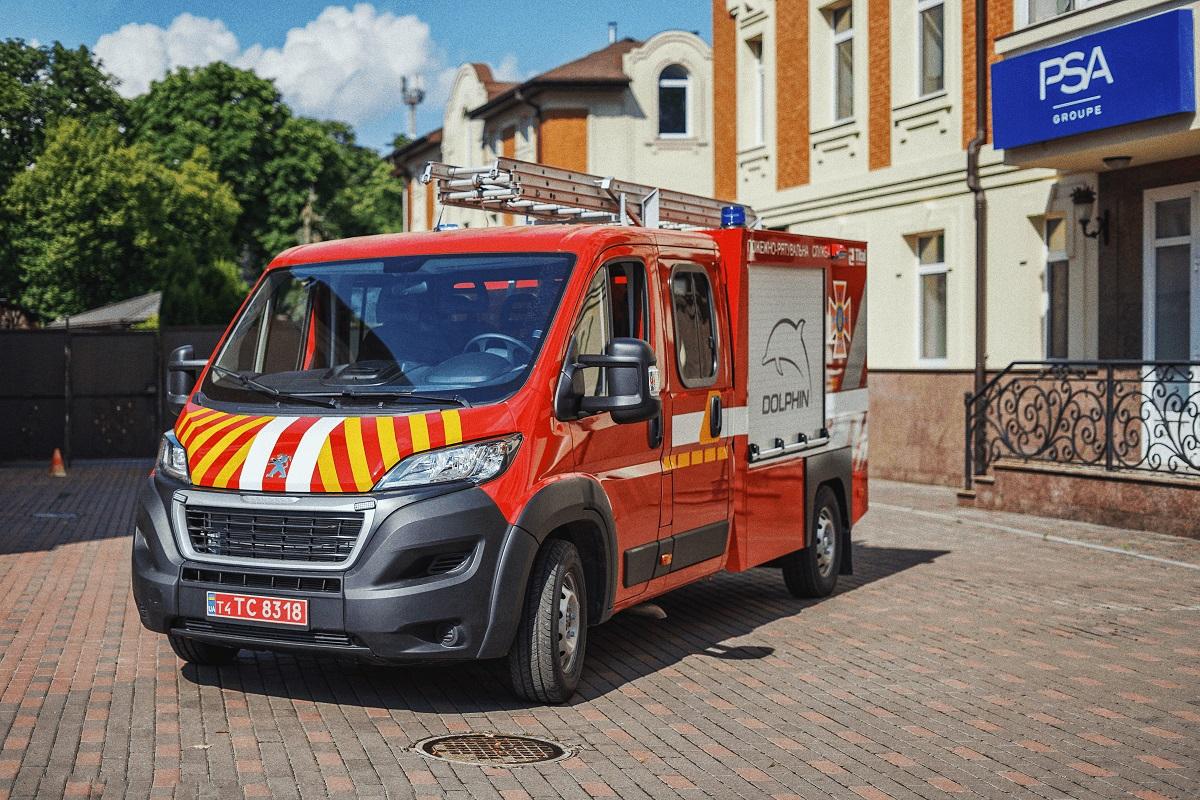 Спасатели Львова пересядут на современные пожарные автомобили
