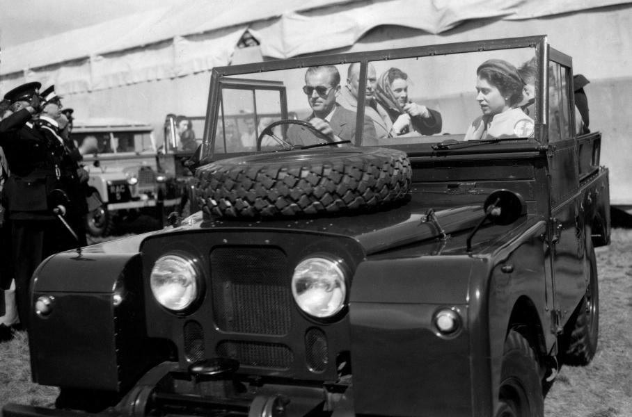 Чоловік королеви і його автомобілі