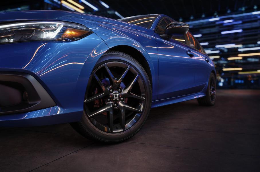 Honda повністю розсекретила новий Civic-седан