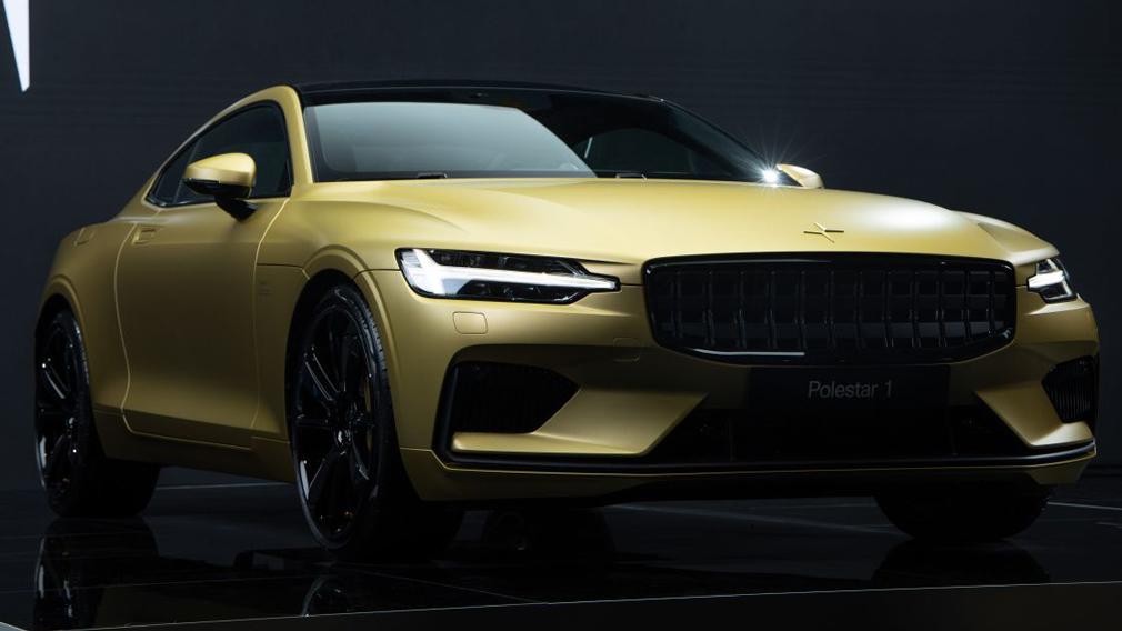 Виробництво гібрида Polestar 1 завершиться випуском «золотої» спеціальної версії