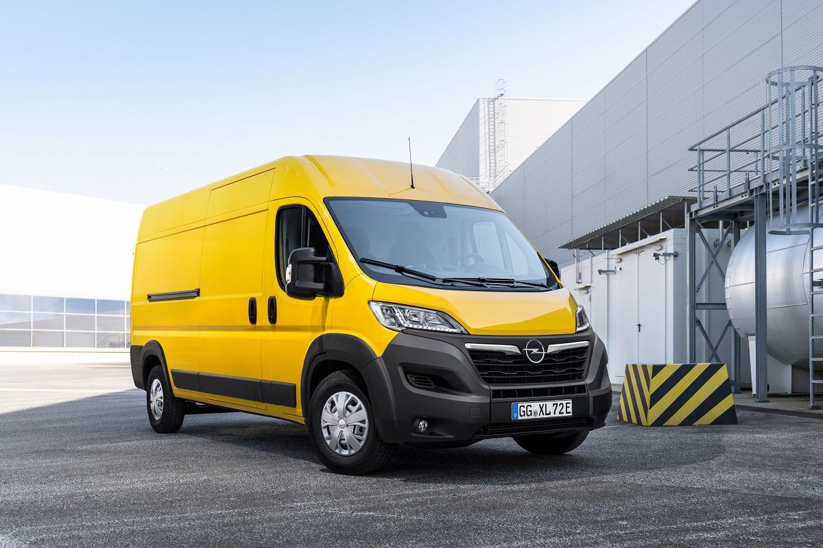 Новый Opel Movano-e завершает электрификацию линейки коммерческих автомобилей Бренда