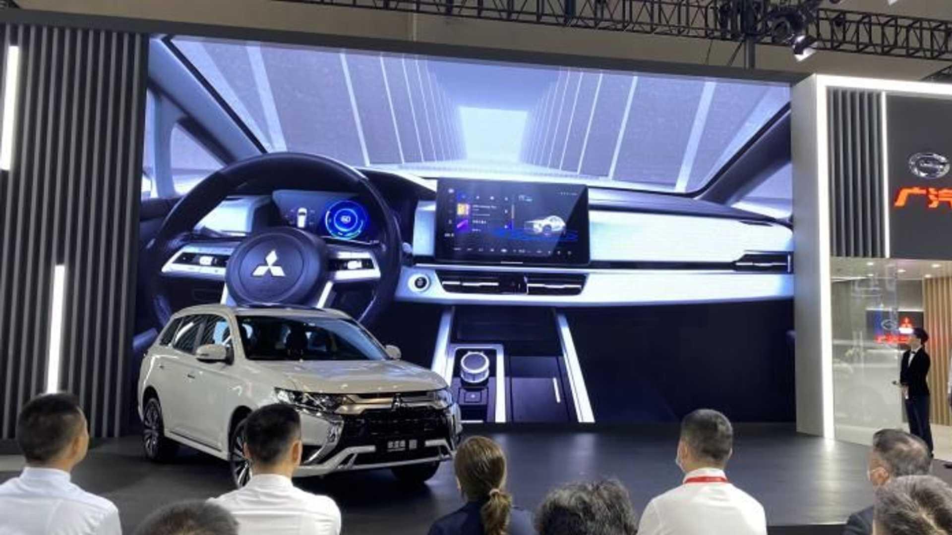 Mitsubishi Airtrek дебютував на Чунцинському автосалоні