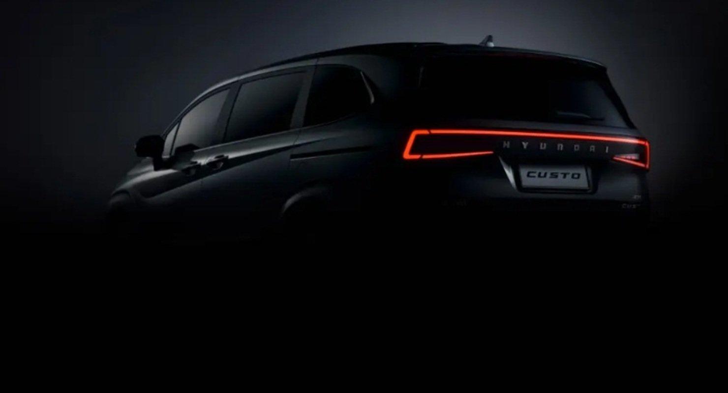 Hyundai представила перші фото нового мінівена Custo
