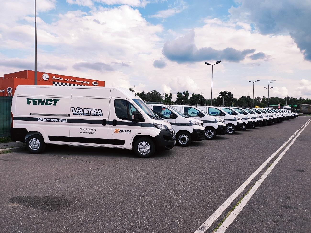 Аграрно-сервісна компанія Астра вибрала для покупки всю лінійку комерційних автомобілів PEUGEOT