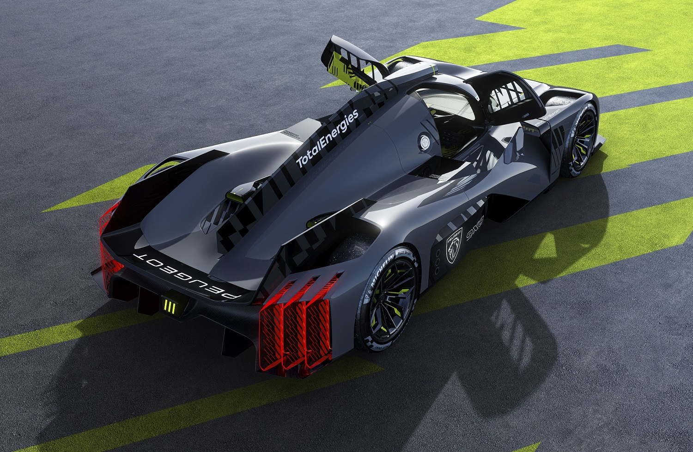 Новый гиперкар PEUGEOT 9Х8 – он создан для гонок!
