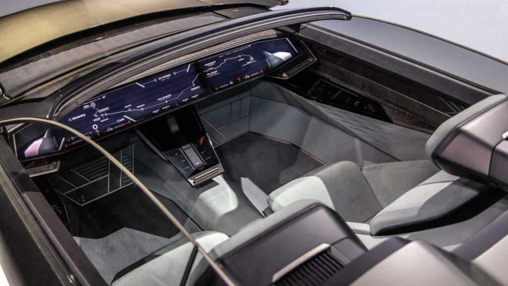 Audi Skysphere демонстрирует будущий дизайн бренда