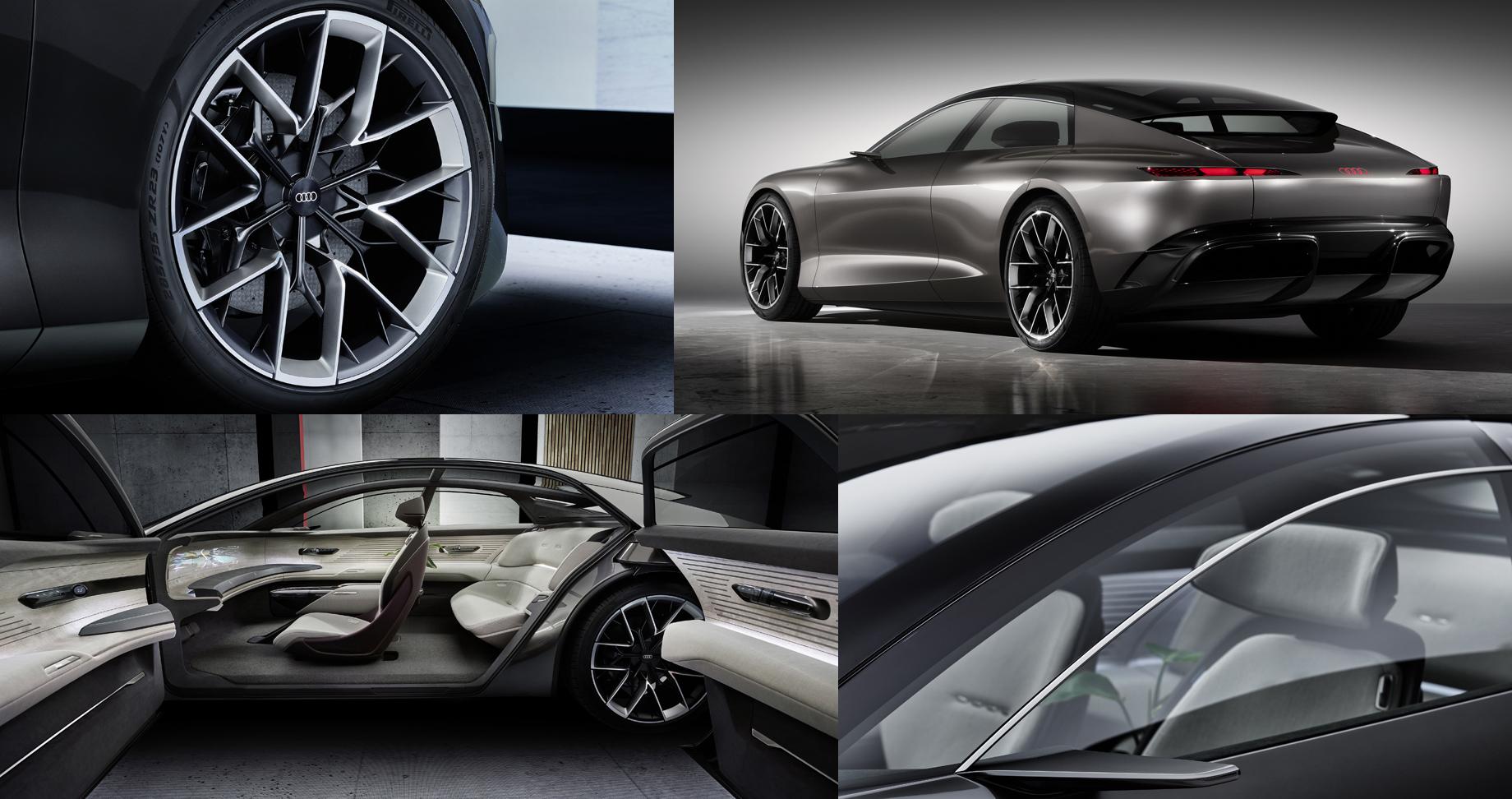 На автосалоне в Мюнхене Audi представили концепт Grandsphere