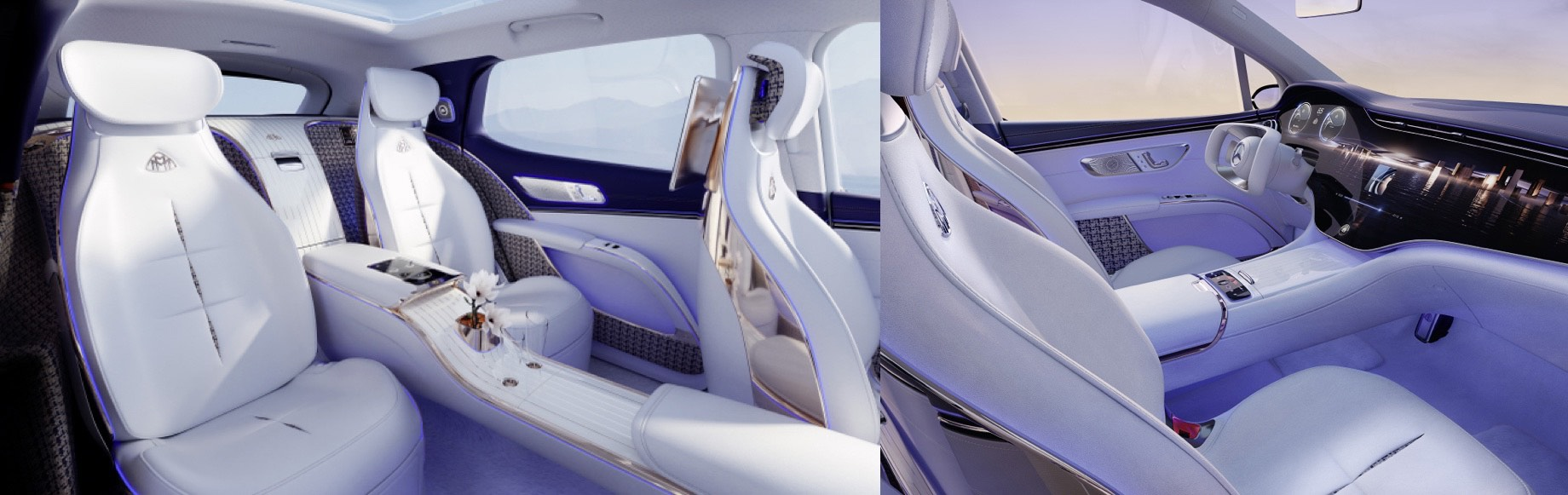 Mercedes-Maybach EQS представил роскошный електрокроссовер на автошоу IAA Mobility