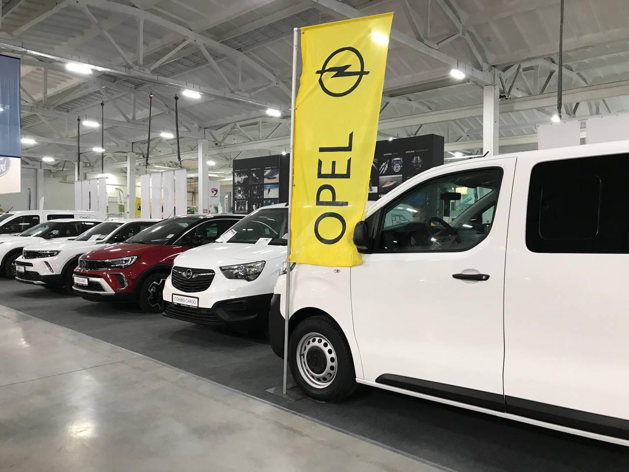 PEUGEOT, CITROЁN, OPEL представили широкую линейку авто на AgroExpo в Кропивницком