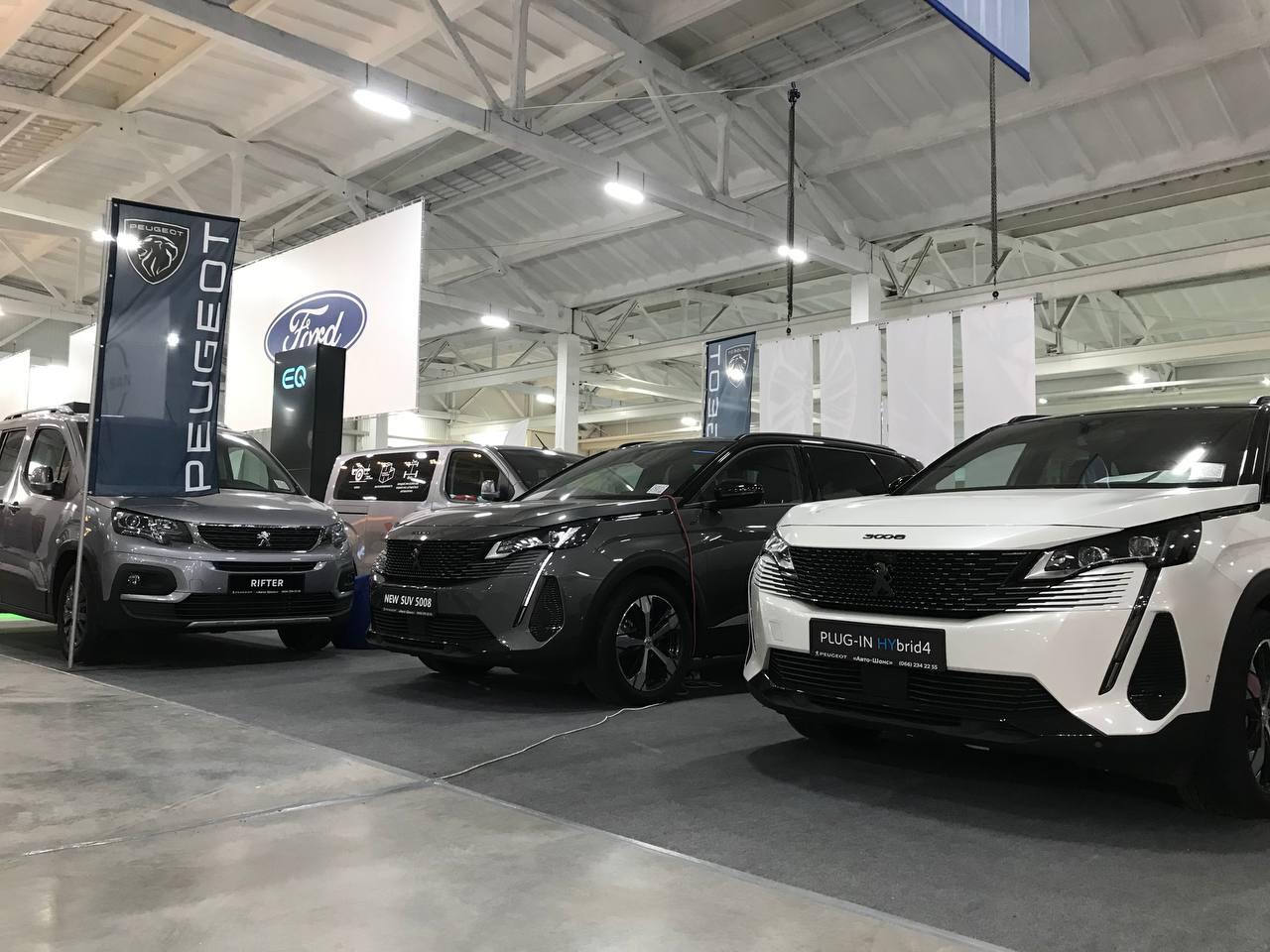 PEUGEOT, CITROЁN, OPEL представили широку лінійку авто на AgroExpo в Кропивницькому