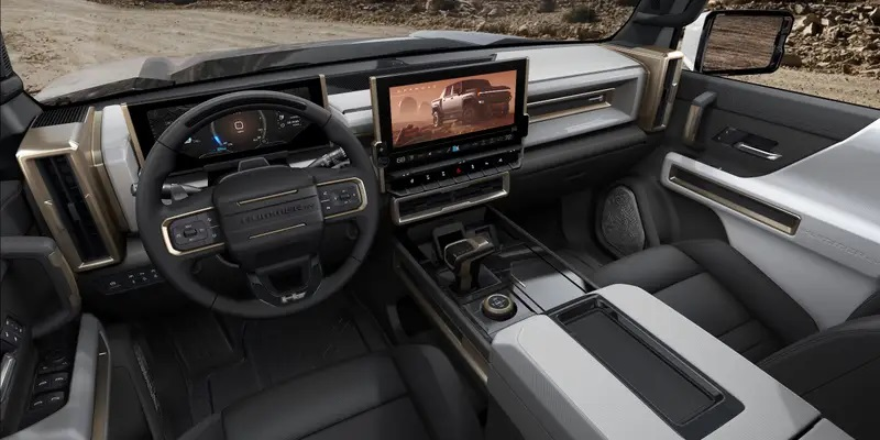 Этой осенью появится первый электрический пикап от GM - GMC Hummer EV